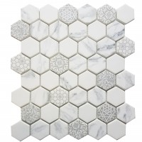 MA100-HX  2 x 2 Hexagon High density recycle glass