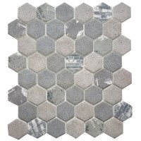 MA103-HX  2 x 2 Hexagon High density recycle glass