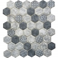 MA104-HX  2 x 2 Hexagon High density recycle glass