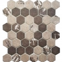 MA105-HX  2 x 2 Hexagon High density recycle glass