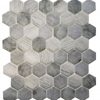 MA109-HX  2 x 2 Hexagon High density recycle glass