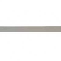 0.5 X 12 FARROW GRAY GLOSSY ROUNDED BULLNOSE