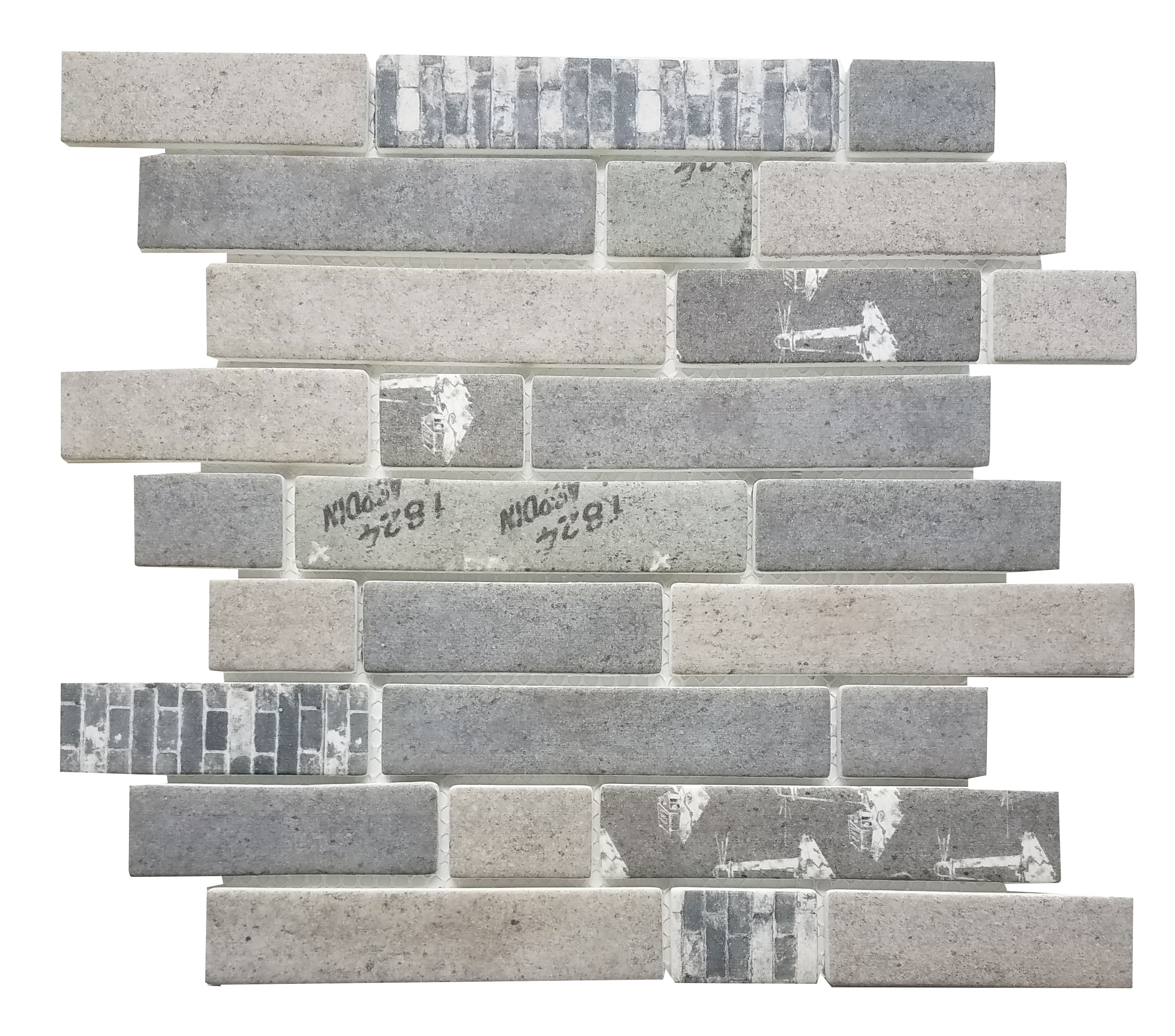 MA103-RB  Random Brick High density recycle glass