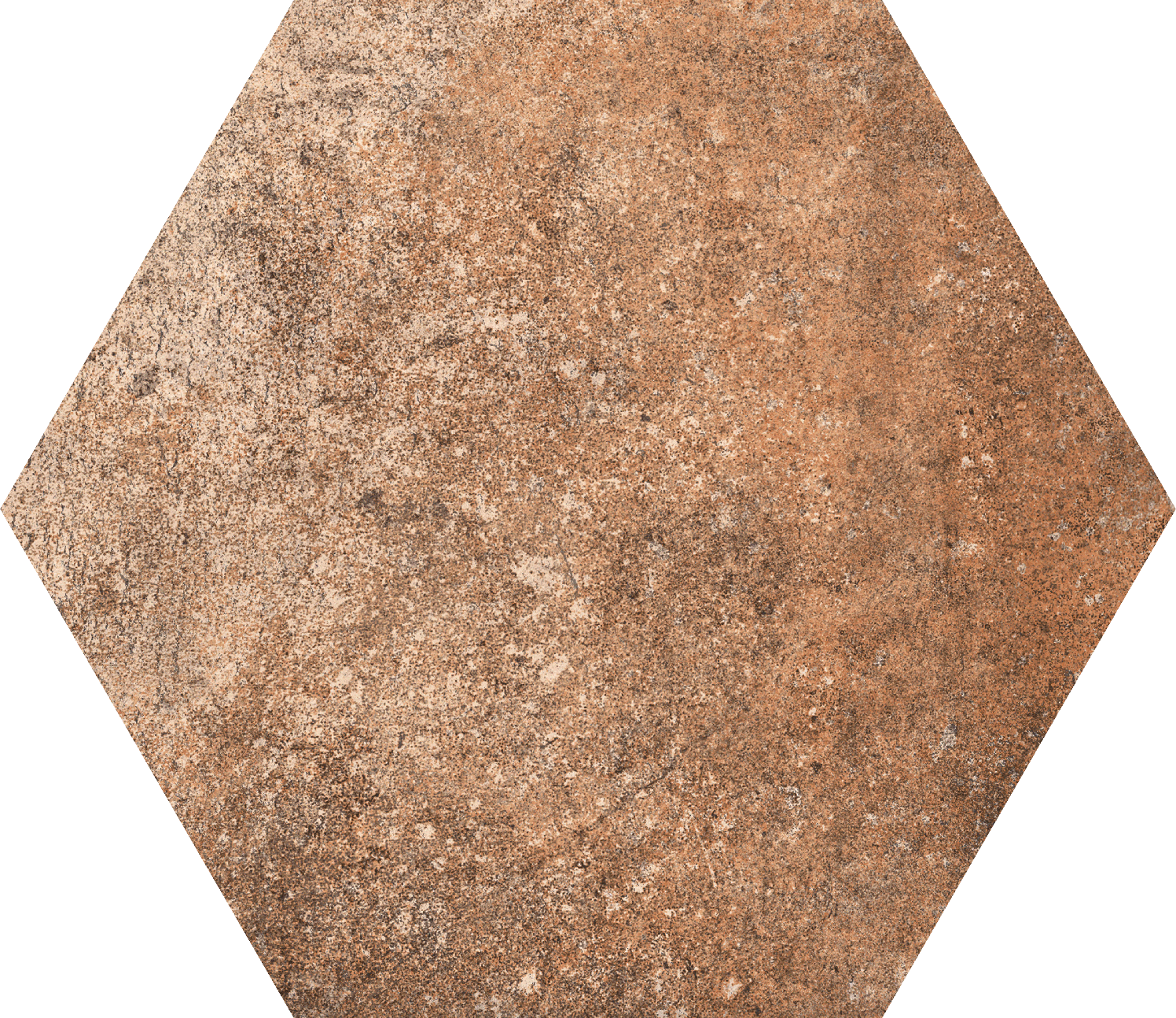 10 x 10 Abadia Hexagon porcelain tile
