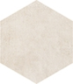 8 X 8 Icon Bone White hexagon porcelain tile