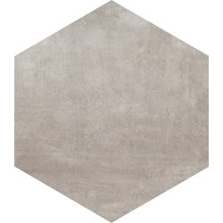 8 X 8 Icon Gun Powder hexagon porcelain tile