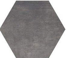 8 X 8 Icon Jet Black hexagon porcelain tile