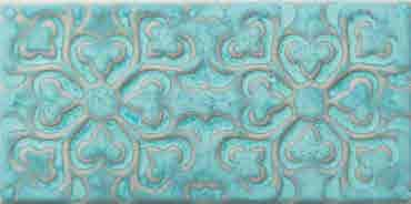 4.5 X 9 Zurbaran Agua Marina Subway Porcelain tile (8 PATTERNS)