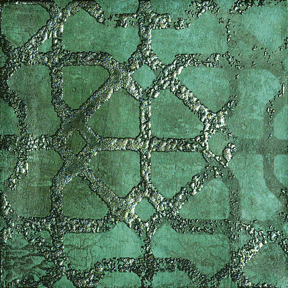 6 X 6 ZYX  Amazonia Ethnic Emerald porcelain tile (7 mixed patterns)