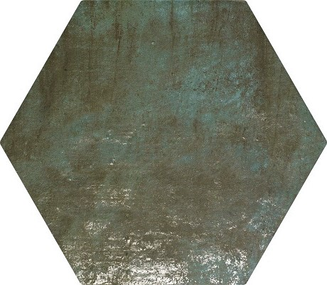 12.8 X 12.8 ZYX  Amazonia Emerald Hexagon porcelain tile