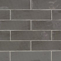 3 x 12 Atelier Graphite Ceramic Wall subway