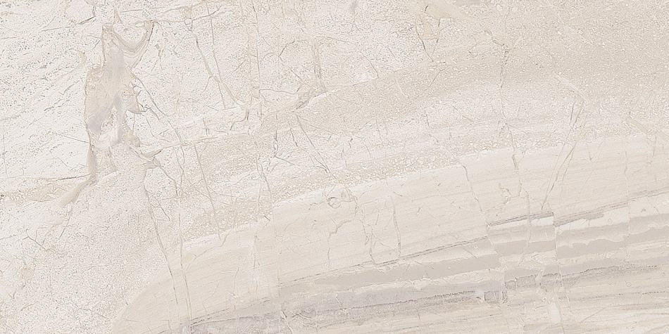 12 x 36 Daino Crema Glazed Ceramic Wall Rect.