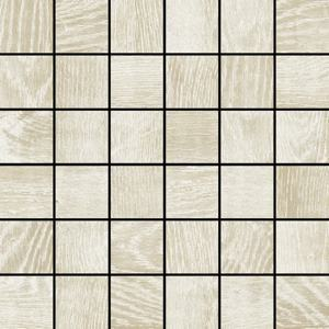 2 x 2 Eternal Wood White mosaic