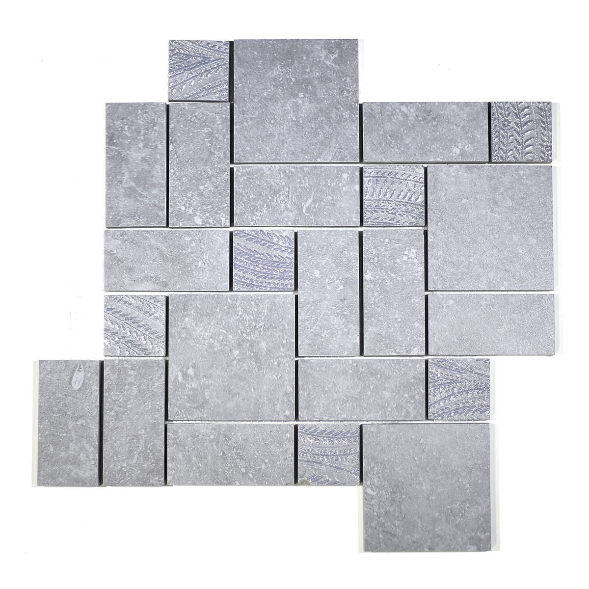 Bluebelle Compo Silver mosaic
