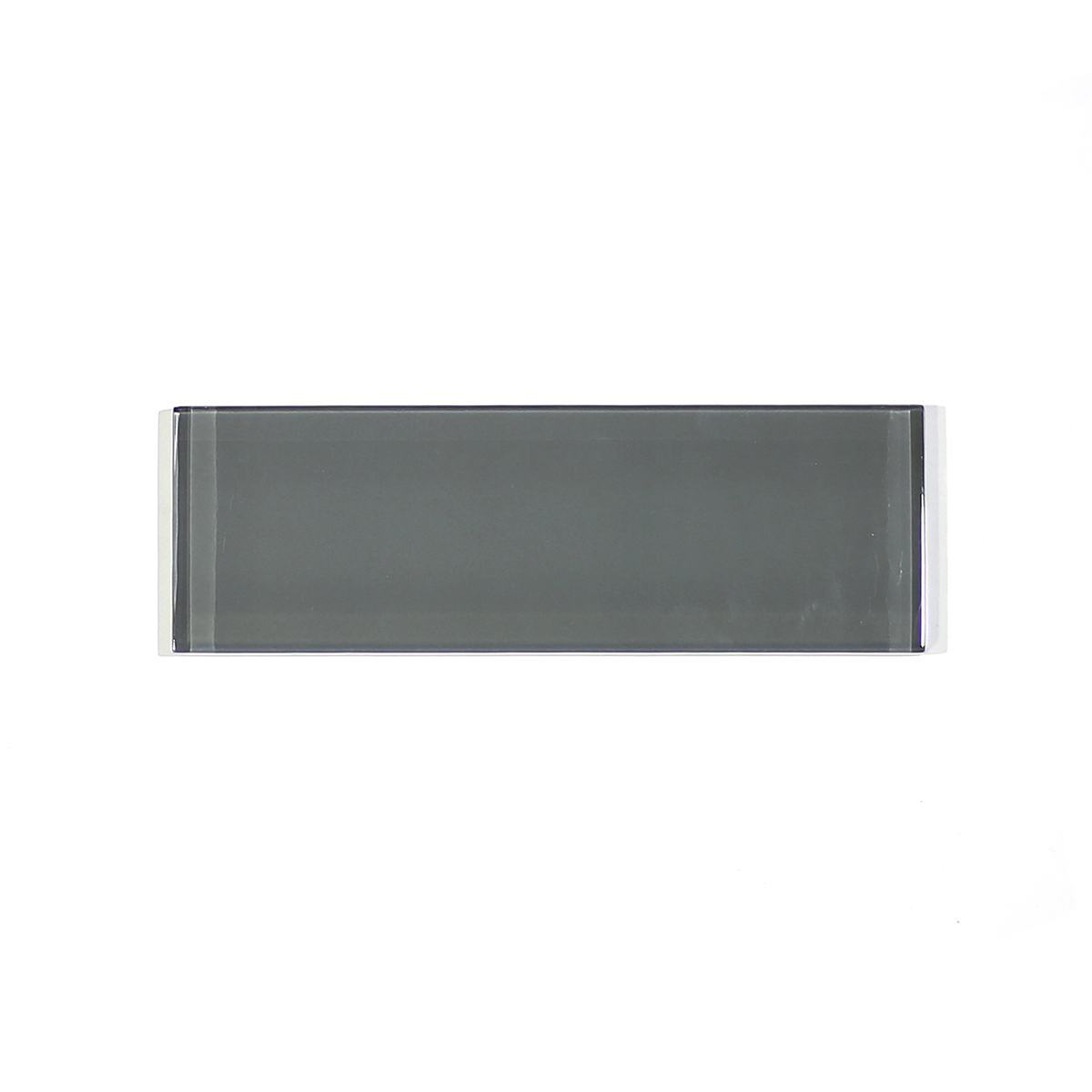 MA91-SW  2 X 6 GREY GLASS SUBWAY
