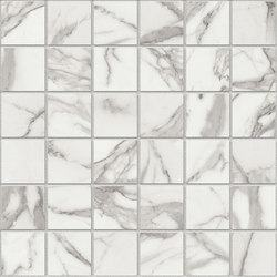 2 x 2 Wonder Statuario POLISHED mosaics