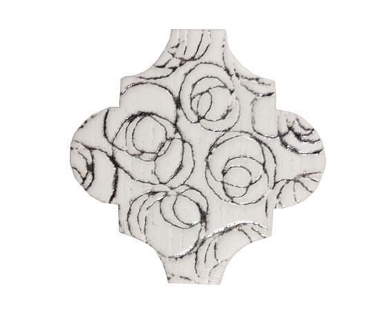 4 x 4 Provenzal Cammeo Diamant Porcelain