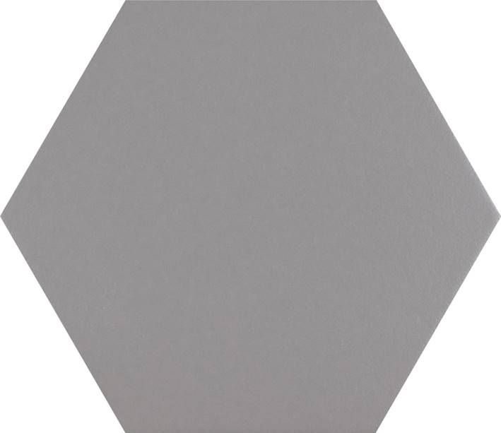 10 x 10 Basic Grey Porcelain matt finished Hex