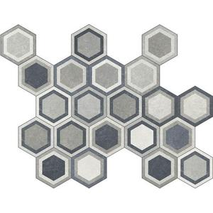 10 x 10 Traffic COMBI Hex Deco MIXED PATTERNS