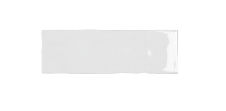2.6 x 8 Nolita Blanco Shiny Subway Porcelain Tile