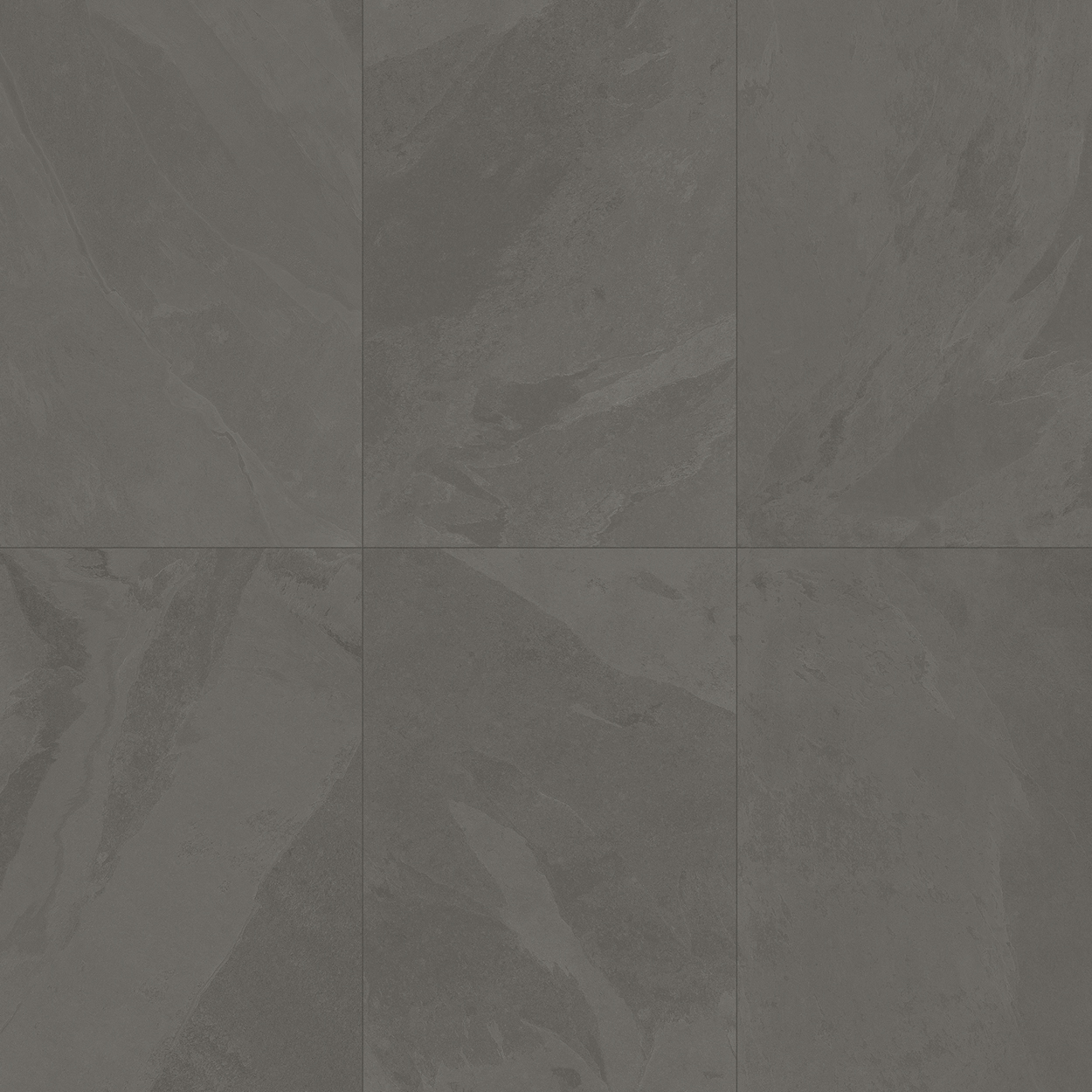 24 x 48 Brazilian Slate Elephant Grey Rectified Porcelain tile