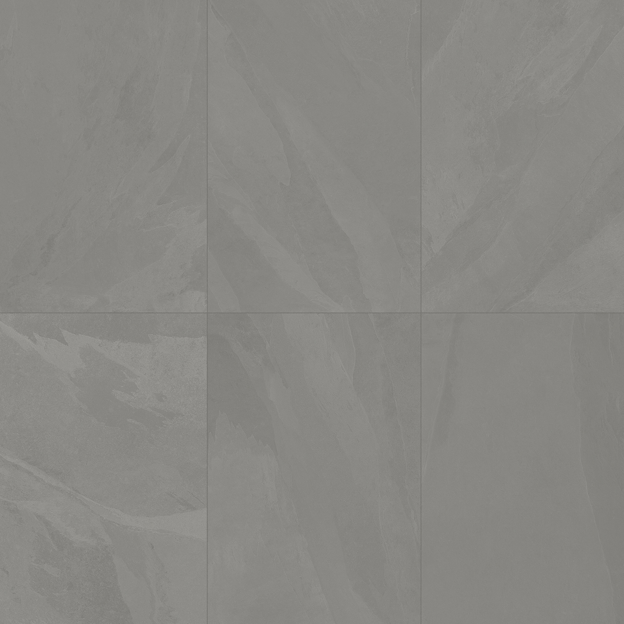 24 x 48 Brazilian Slate Silk Grey Rectified Porcelain tile